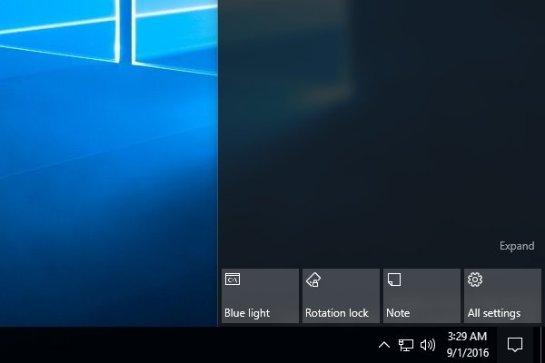 В Windows 10 появится «ночной режим»