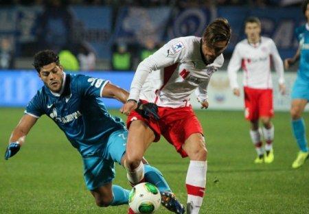 РФПЛ: «Зенит» проиграл «Амкару» 0-1. Видео, обзор матча