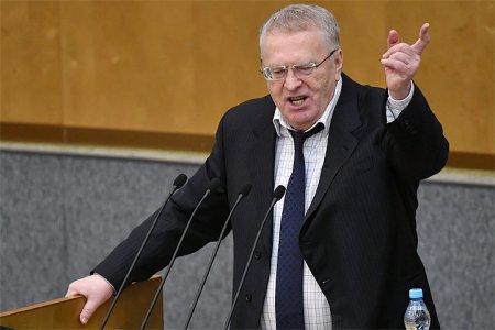 Видео: Жириновский оскорбил депутатов с трибуны Госдумы
