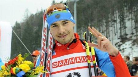 Биатлонист Антон Шипулин стал третьим в спринте в Холменколлене 18 марта