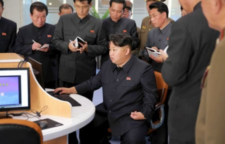 Видео с имитацией ракетного удара по США показали в КНДР
