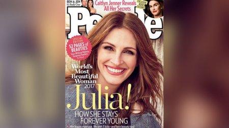 Джулия Робертс стала самой красивой женщиной мира в 2017 году по версии журнала People