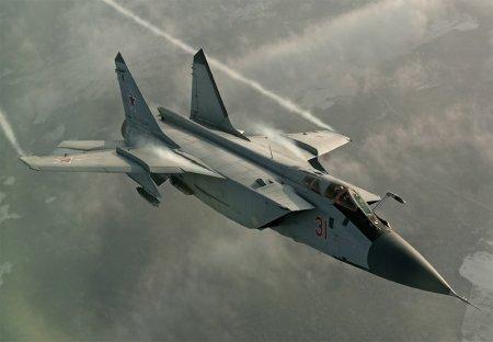 В Бурятии 26 апреля на полигоне Телемба разбился истребитель-перехватчик МиГ-31