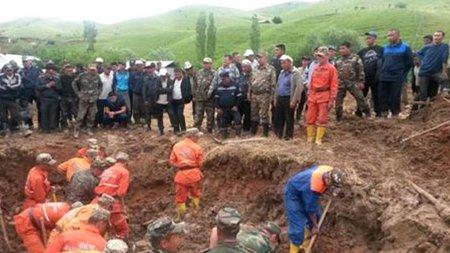 В Киргизии 29 апреля оползень сошел на жилые дома, погибли четыре человека