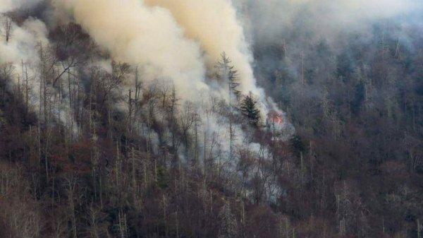 В Бурятии пожар спровоцировал превышение уровня вредных веществ