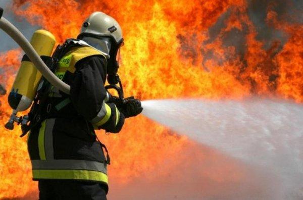 Во Владивостоке загорелась жилая многоэтажка