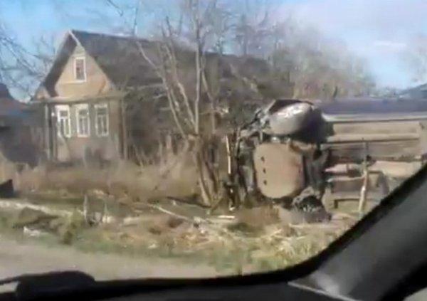 В ДТП у Форносово в Ленобласти погиб пассажир иномарки