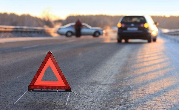 В Москве на Тверской улице столкнулись три автомобиля