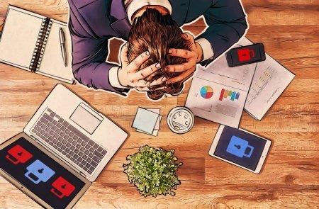 В Центробанке сообщили о массовых кибератаках на банки