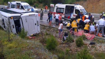 ДТП в Турции 18.05.2017 на трассе Мугла–Денизли: пострадали 16 украинцев, 2 госпитализировали