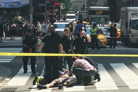 В США на Таймс-сквер в Нью-Йорке автомобиль протаранил толпу людей. ФОТО, ВИДЕО