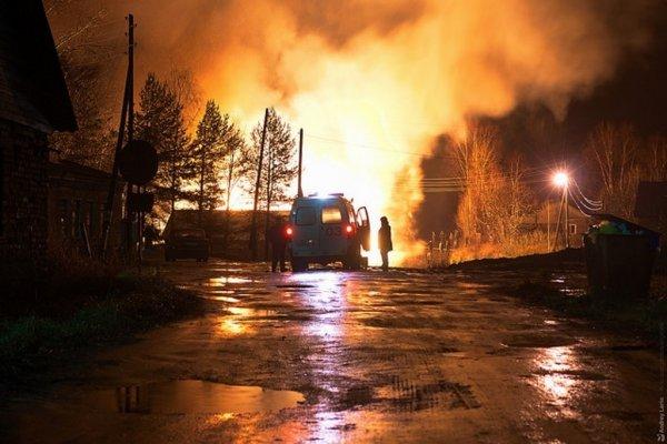 В Москве при пожаре в жилом доме спасены три человека