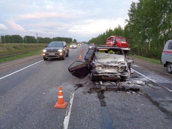 На трассе в Тамбовской области в ДТП погибли два человека