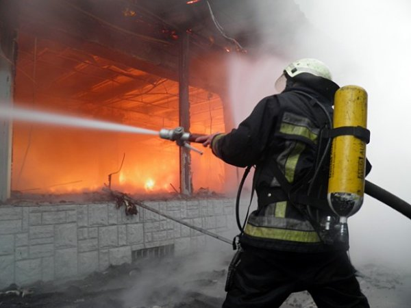 В Новосибирске пожарные во время чрезвычайной ситуации эвакуировали 20 человек