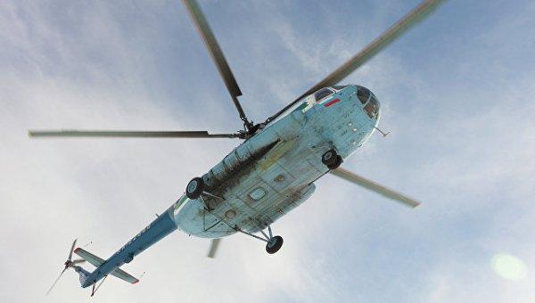 В Приморье вертолет Ми-8 совершил аварийную посадку