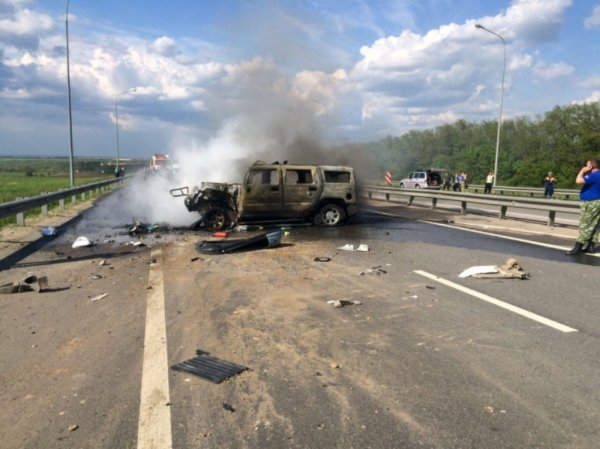 Вследствие аварии в Ростовской области скончались два человека и трое ранены
