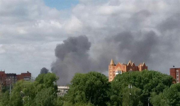 В Томске осужденные эвакуированы из-за пожара в тюремной бане и школе