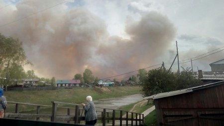 Пожар в поселке Стрелка Красноярского края: сгорели 34 частных дома. ФОТО, ВИДЕО
