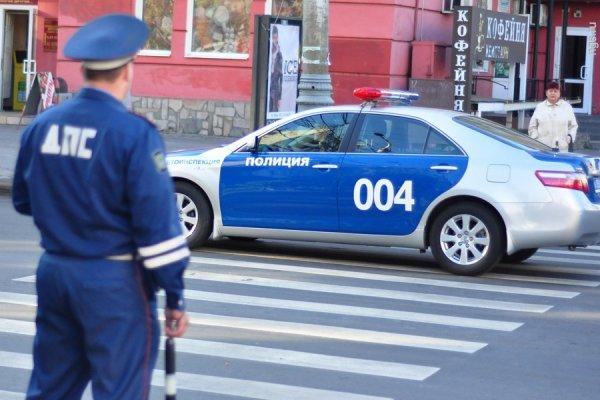 В Красноярске водитель нокаутировал виновника ДТП