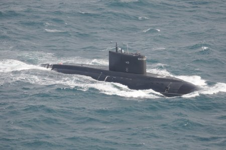 Видео: ВМФ России с подводной лодки нанесли ракетный удар по ИГ в Сирии