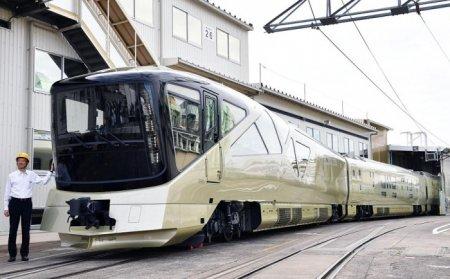 Билет на поезд по цене автомобиля: в Японии запустили поезд класса люкс Shiki-Shima