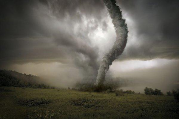 В Алтайском крае пронесся торнадо