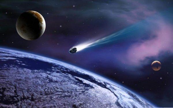 В Подмосковье очевидцы сняли падающий метеорит на видео