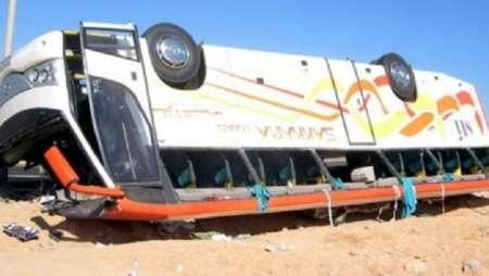 В Турции 47 человек пострадали при опрокидывании пассажирского автобуса
