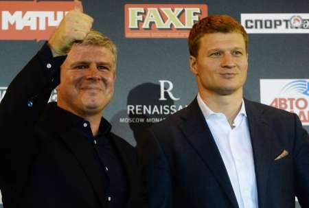 Бой Александра Поветкина с украинцем Андреем Руденко состоится 1 июля в Лужниках