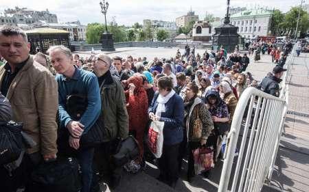 Мощи Николая Чудотворца в Москве: паломники проводят по девять часов в очереди