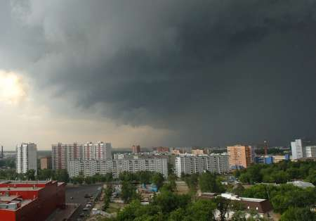 «Тропический» ливень придет в Москву 30 июня: ожидается стена дождя, которой не было с 50-х годов
