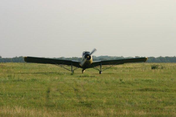 Под Тольятти вследствие жесткой посадки скончался пилот одноместного самолета