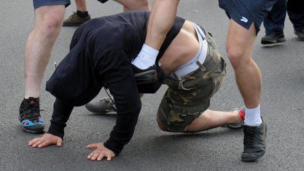 Очевидцы: В московском районе Марьино произошла массовая драка