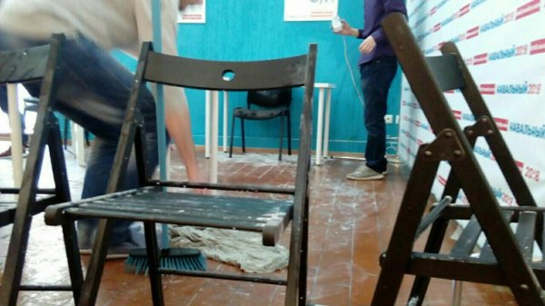 На штаб Навального в Краснодаре снова напали