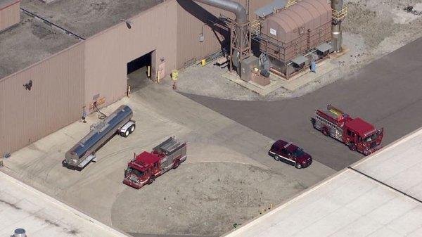 На заводе General Motors в Детройте случился взрыв