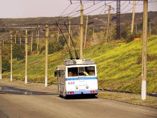 В троллейбусе Рязани упала пенсионерка