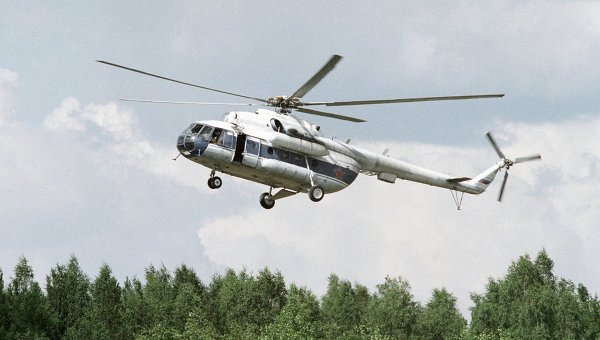 Пропавший в Приморье вертолет Ми-8 найден