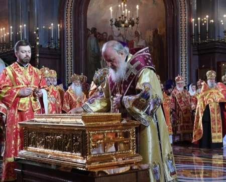 Мощи Николая Чудотворца в Санкт-Петербурге 2017: где будут находиться, очередь, время посещений