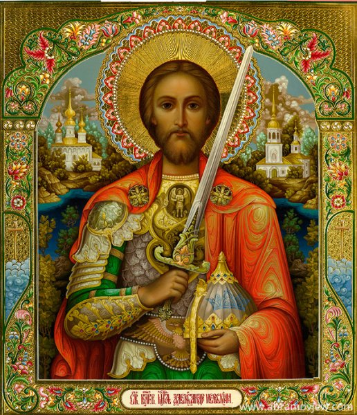 В Москве из храма украли икону Александра Невского