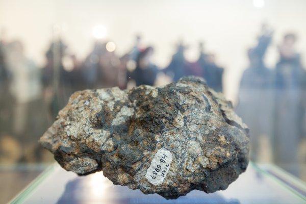 ФСБ: Похищенный челябинский метеорит был обнаружен в коллекции у геолога