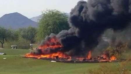 В США в штате Аризона 17 июля легкомоторный самолет упал на поле для гольфа в клубе Лонгбоу. ФОТО, ВИДЕО