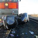 Вторые сутки в Нижегородской области разыскивают железнодорожный состав, скрывшийся после ДТП