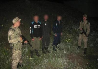 Трое россиян задержаны на северо-востоке Украины за нарушение границы