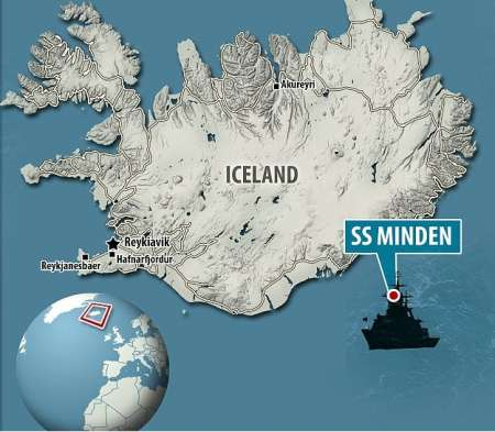 У берегов Исландии на затонувшем корабле британцы нашли золото нацистов
