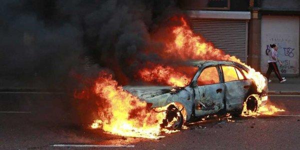 В Одессе взорвался припаркованный автомобиль «ВАЗ 2101»