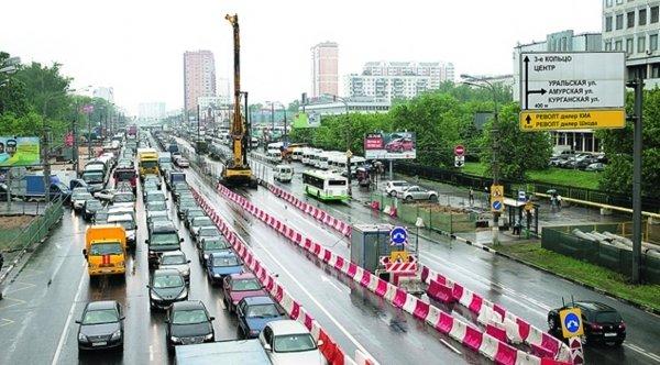 Завершён основной этап реконструкции Щёлковского шоссе