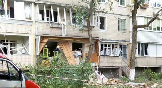 В Киеве прогремел взрыв в одной из многоэтажек