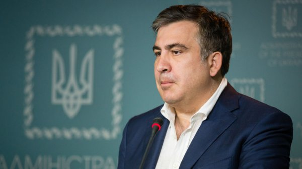 Сторонники Саакашвили подрались с полицией в Киеве