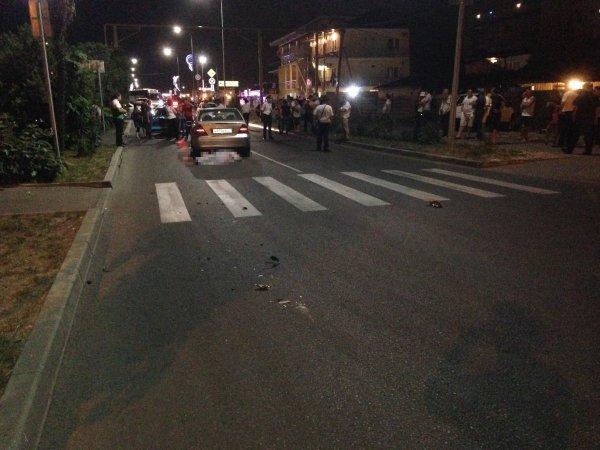Три пешехода пострадали в результате ДТП с наездом в Сочи
