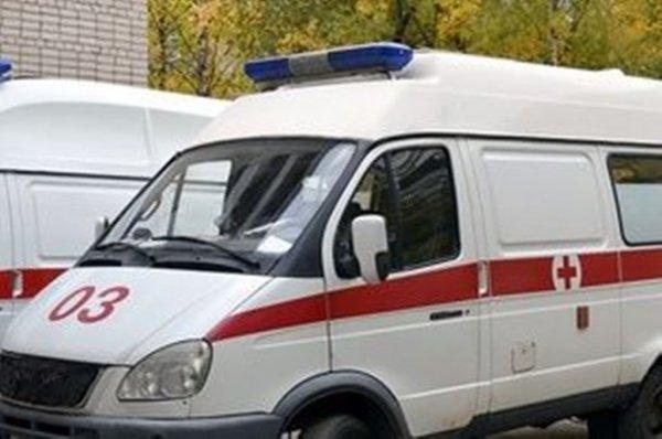 В центре Москвы машина Генпрокуратуры столкнулась с байкером